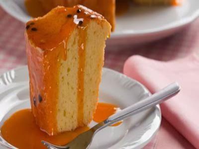 Receita de bolo de maracujá molhadinho