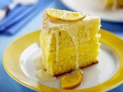 Receita de bolo molhadinho de laranja