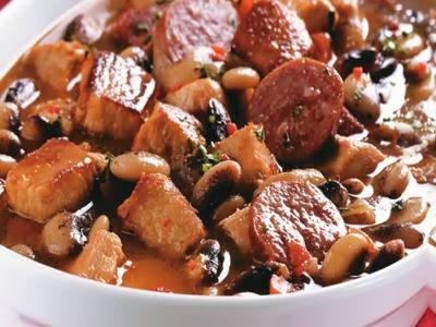 Receita de cozido baiano de carne e linguiça