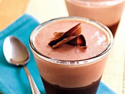 Receita de creme gelado de goiaba com chocolate