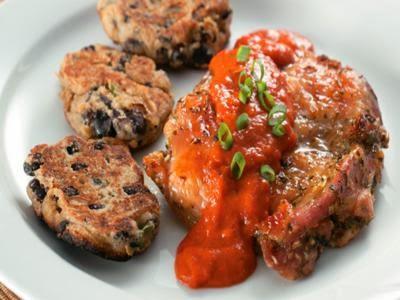 Receita de frango com molho de pimentão