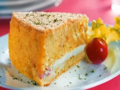 Receita de bolo de batata napolitano