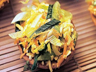 Receita de forminha de legumes