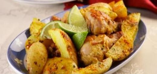 frango-assado-com-batatas-picantes