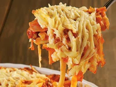 Receita de macarrão à italiana