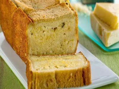 Receita de pão de queijo enformado