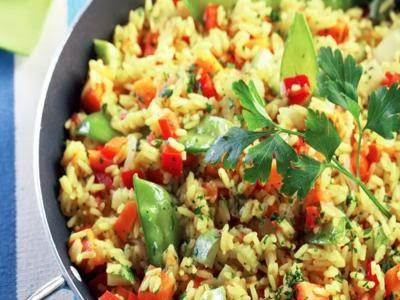 Receita de risoto vegetariano