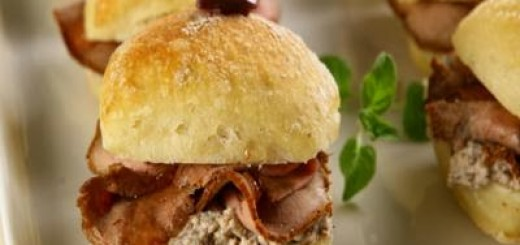 Receita de sanduíche de rosbife com geleia de pimenta