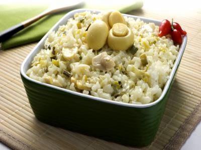 Receita de arroz fácil à piamontese
