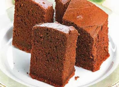 Receita de bolo cetim