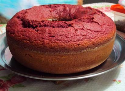 Receita de bolo de beterraba