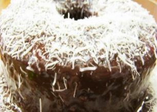 Receita de bolo de chocolate e coco