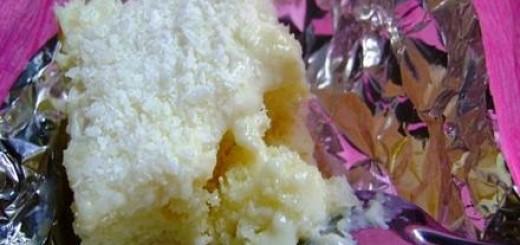 Receita de bolo gelado de abacaxi
