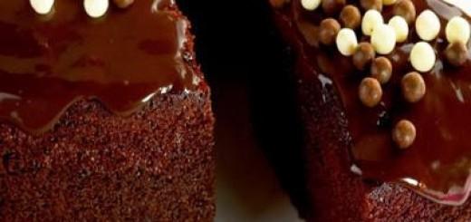 Receita de bolo nega maluca com cobertura