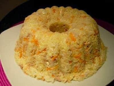 Receita de coroa de arroz