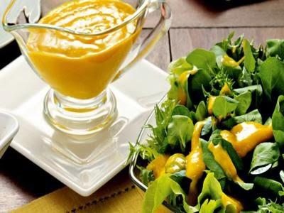 Salada colorida com minilegumes