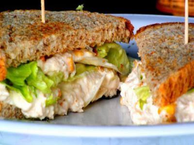 Receita de sanduíche nutritivo