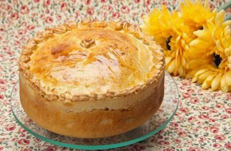 Receita de torta de picadinho cremoso
