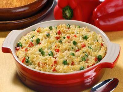 Receita de arroz marguerita