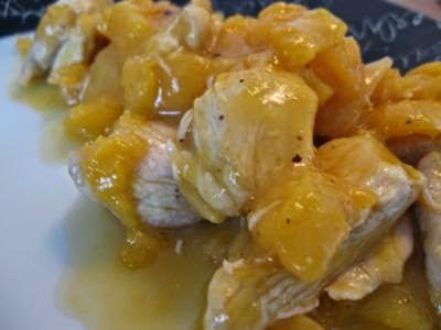 Frango com mel e mostarda