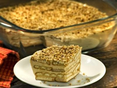 Receita de torta de amendoim