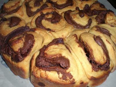 Torta pão de Nutella