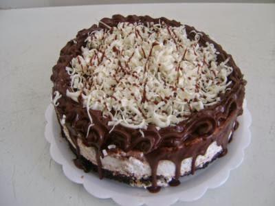 Receita de torta gelada de prestígio