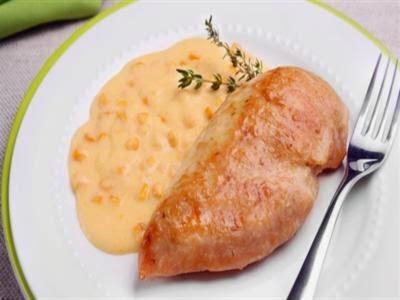 Receita de creme de milho com frango de pressão
