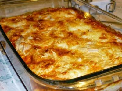 Receita de lasanha de frango, catupiry e brócolis