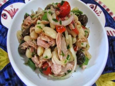 Receita de salada de peixe