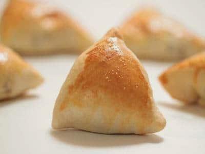 Receita de triângulo de queijos