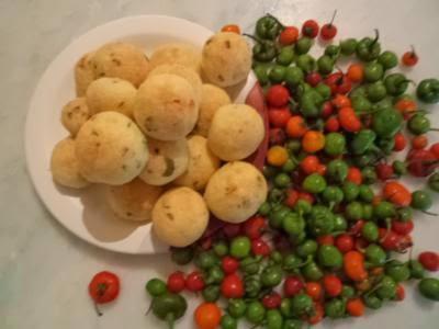 Receita de bolinha de pimenta e cebola