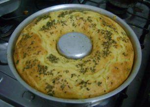 Receita de torta de berinjela de liquidificador