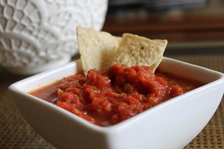 Receita de salsa mexicana