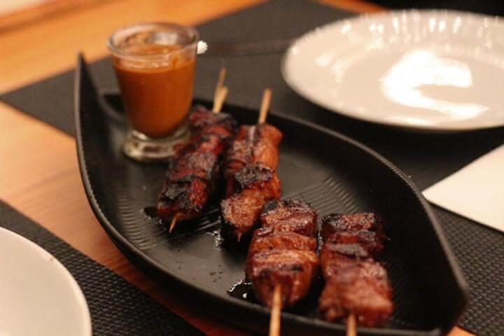 Receita de molho satay tailandês para frango
