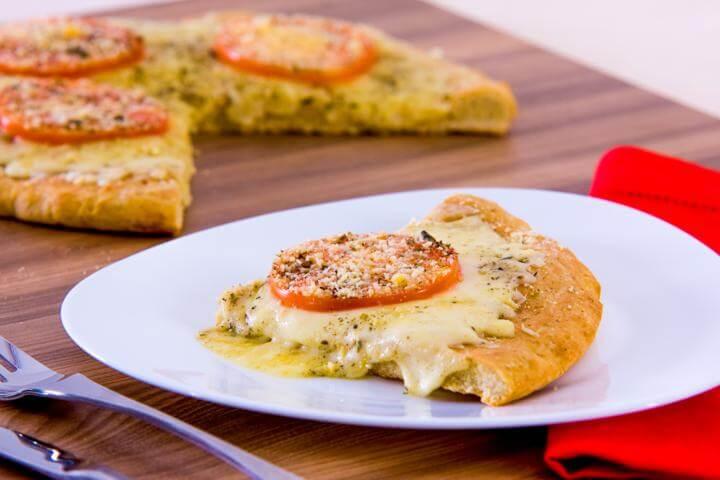 Receita de torta de liquidificador sabor pizza