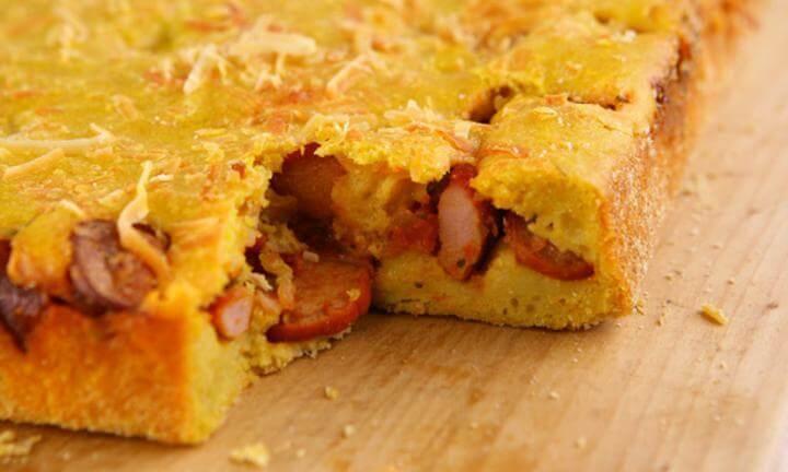 Receita de torta fácil de salsicha