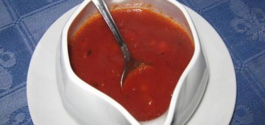 Receita de molho de salsicha