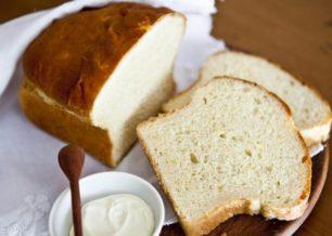 Receita de pão de mandioca