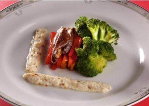 Receita de molho de salada com tofu e gergelim