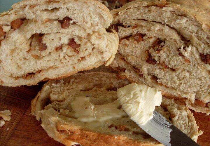 Torta de palmito com massa de milho
